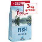 12 kg + 3 kg - Purizon Adult Overfill Crocchette senza cereali per cani