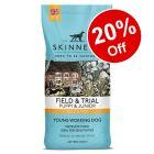 2.5kg / 15kg Skinner's Field & Trial Dry Puppy Food - 20% Off!*