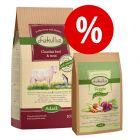 15 kg Lukullus Adult Trockenfutter: 10 kg + 5 kg Veggie (kaltgepresst) zum Sonderpreis!