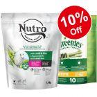 1.4kg Nutro Dry Food + 170g Petite Greenies Dental Chews – Bundle Price!*
