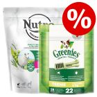 1.4kg Nutro Dry Food + 170g Teenie Greenie Dental Chews – Bundle Price!*
