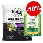 1,4kg Nutro + 170g Greenies PETITE za skvělou cenu!