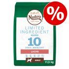 11,5 kg Nutro Limited Ingredient Adult pro psy s lososem za skvělou cenu!