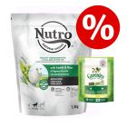 1,4 kg NUTRO torrfoder + 170 g Greenies tuggodis Teenie till sparpris!