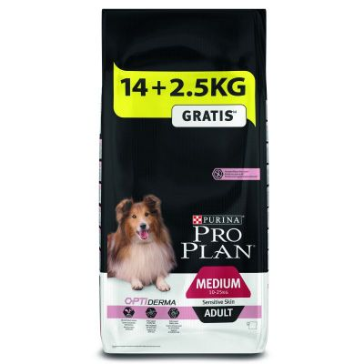 12 + 2 kg o 14 + 2,5 kg - Pro Plan Overfill