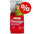 15 kg of 20 kg Versele Laga Prestige nu met 10% korting!
