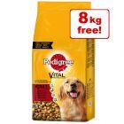 30kg Pedigree Dry Dog Food - 22kg + 8kg Free!*