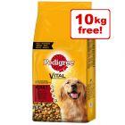 30kg Pedigree Dry Dog Food - 20kg + 10kg Free!*