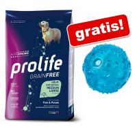 10 kg Prolife + Pallina in TPR con LED gratis!