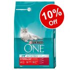 3kg Purina ONE Dry Cat Food - 10% Off!*