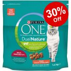 1.4kg Purina ONE Dual Nature Sterilised Dry Cat Food - 30% Off!*