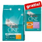 3 kg Purina ONE granule + 12 x 85 g Sensitive kapsičky Purina ONE zdarma!