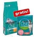 6 kg Purina One Katzenfutter + 1,4 kg Purina ONE Dual Nature gratis!