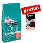 9,75 kg Purina ONE + Tigeria Milk Cream miks gratis!