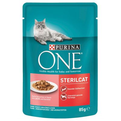 6 kg Purina One + 12 x 85 g kapsičky Purina ONE zdarma!