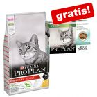 10 kg Purina Pro Plan Cat + 10 x 85 g Pro Plan Sterilised gratis!