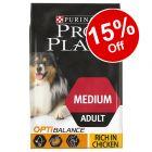 7kg Purina Pro Plan Dry Dog Food - 15% Off!*
