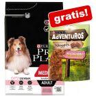 7 kg PURINA PRO PLAN + 300 g AdVENTuROS Nuggets Hundesnacks gratis!