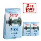 12kg Purizon Grain-Free 80:20:0 Dry Dog Food + 2kg Extra Free!*