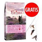6,5 kg Purizon Kitten + Wędka dla kota 3 w 1, XXL gratis!