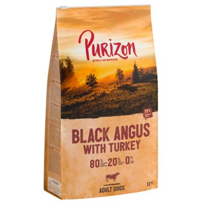 12kg Purizon New Recipe Grain-Free 80:20:0 Dry Dog Food - 10% Off!*