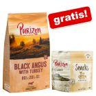 12 kg Purizon +  Purizon Snack gratis!