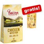 """12 kg Purizon + Rosie's Farm Snacks """"Mini Steak Bites"""" piščanec gratis!"""