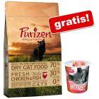2,5 kg Purizon sucha karma dla kota + Przysmak odkłaczający Smilla Hearties, 125 g gratis!