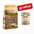12 kg Purizon suha hrana za pse + Lukullus mokra hrana bez žitarica 6 x 300 g