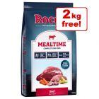 12kg Rocco Mealtime Dry Dog Food - 10kg + 2kg Free!*