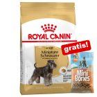 7,5 - 12 kg Royal Canin Breed hundfoder + 200 g Barkoo Mini Bones - Lamm på köpet!