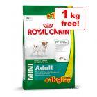 8kg Royal Canin Mini Adult + 1kg Free!*