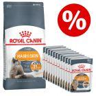 10 kg Royal Canin torrfoder + 12 x 85 g våtfoder till sparpris!