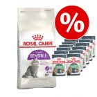2 kg Royal Canin + 12 x 85 g Royal Canin în sos