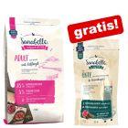 2 kg Sanabelle droogvoer + 55 g Sanabelle snacks gratis!