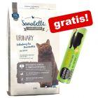 2 kg Sanabelle + 26 g Cosma Snackies Kylling gratis!