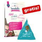 10 kg Sanabelle suha hrana + 12 x 20 g Dental Snacks gratis!