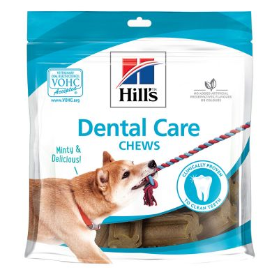 14 / 14,5 kg secco Hill's Science Plan + 3 x Dental Care Snack gratis!