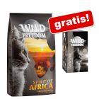 6 kg secco Wild Freedom + 6 x 85 g umido assortito Wild Freedom gratis!