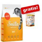 4 kg Smilla + Catessy hrustljavi prigrizki gratis!