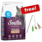 10kg Smilla Dry Cat Food + 3 in 1 Cat Dangler Toy Free!*
