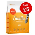 10kg Smilla Dry Cat Food - £5 Off!*