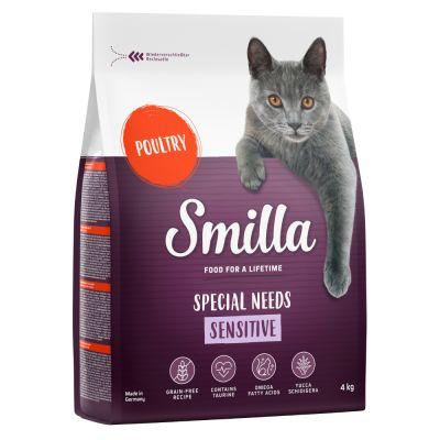 4kg Smilla Dry Cat Food + Trixie Cuddle Cats Placemat Free!*