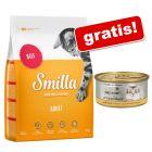 10 kg Smilla Hrană uscată pisici + My Star Gourmet Bucățele în sos 4 x 85 g CADOU!