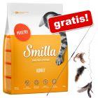 4 kg Smilla + wędka dla kota 3 w 1, XXL gratis!