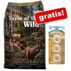 2 kg Taste of the Wild + 3 Barkoo Deli Rings Pui gratis!