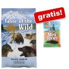 12,2 kg Taste of the Wild + Barkoo Mini Bones (pol-vlažni) gratis!