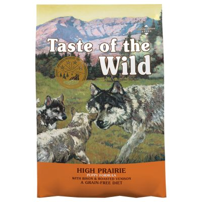 12,2 kg Taste of the Wild Canine + Trixie corda gioco colorata gratis!