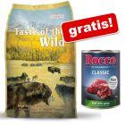 5,8 / 6 kg Taste of the Wild + 1 conservă Rocco Classic gratis!