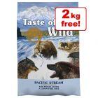 12.2kg Taste of the Wild Dry Dog Food + 2kg Free!*